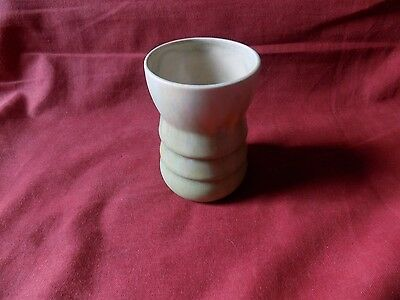 VINTAGE BESWICK ART POTTERY VASE Green SEE PHOTOS