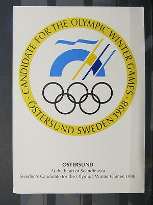 4142 QSL Card Olympic Winter Game 1991
