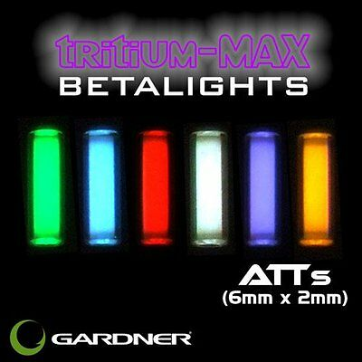 Gardner Tackle NEW Nano Bug ATTS Tritium Max Betalight Isotope 6mm x 2mm