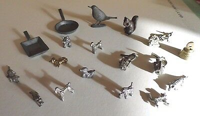Mixed Lot 1/12Th, Metal Minis