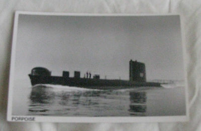 Wright & Logan Photograph of Royal Navy Submarine HMS PORPOISE in 1961
