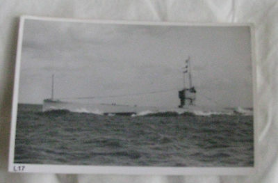Wright & Logan Photograph of Royal Navy Submarine L17 in 1930