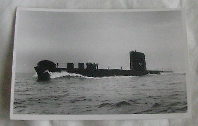 Wright & Logan Photograph of Royal Navy Submarine HMS SEALION in 1961