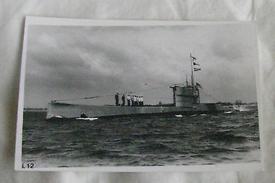 Wright & Logan Photograph of Royal Navy Submarine L12 in 1930