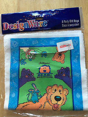 NIP Bear in the Big Blue House Party Bags