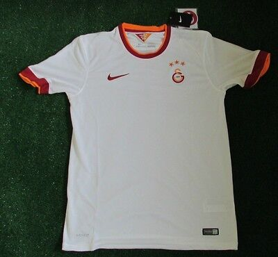 Nike Galatasaray Away Jersey White and Red BNWT Medium Mens 38/40'' Chest