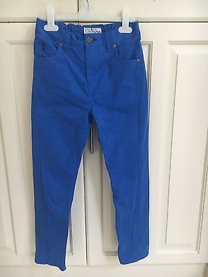 Boys NEXT blue trousers age 8 years - BNWOT