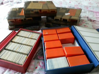 A large collection of 35mm colour photo slides
