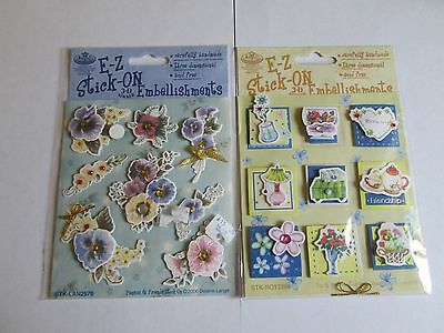 clearout lovely craft 3d toppers for cardmaking clearance (15b