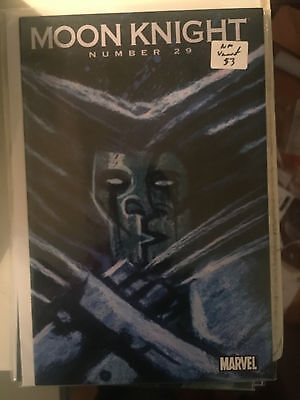 MOON KNIGHT #29 NM 1st Print WOLVERINE ART VARIANT comic