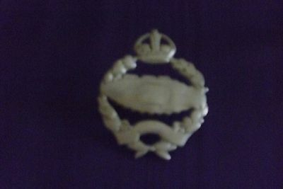 old used and loved military badge