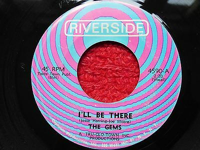 """Original Northern Soul Wigan Casino Torch R&b 7"""" Record I'll Be There The Gems"""