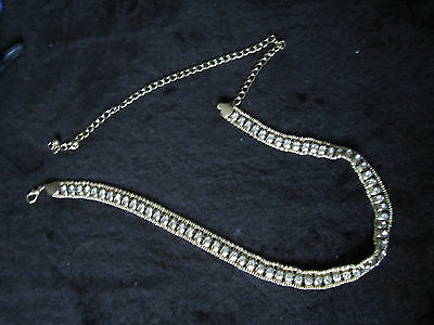 Lady's Diamante Chain Belt