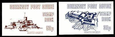 1980 Guernsey  Booklet Selection