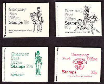 1971/73 Guernsey  Booklet Selection