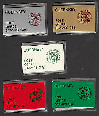 1974/79 Guernsey  Booklet Selection