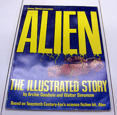 Alien The Illustrated Story (NO RESERVE) 1979