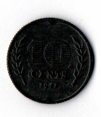 Nice circulated 10 cent coin, 1941