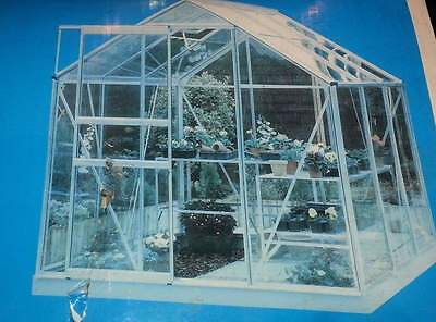 Greenhouse frame and base 6 x 6