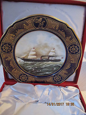 Limited Edition QE2 1993 cruise spode plate