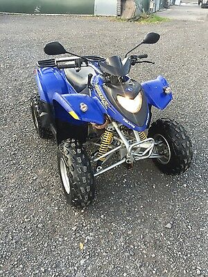 polaris pheonix 200 road legal quad bike