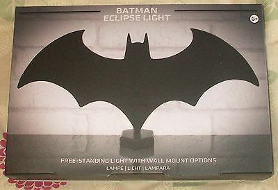 Batman - Eclipse Light - Free Standing Light With Wall Mount Options - New