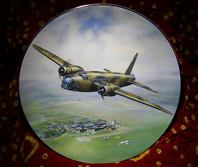 First Flight of the Wellington Royal Doulton Collectors Plate RAF Mitchell PN142