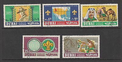 DUBAI 1967 WORLD JAMBOREE USA  SCOUT  STAMPS USED .Rfno.192.