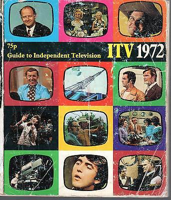 ITV ITA 1972 Yearbook Guide Independent Television TV, Anglia, Granada, LWT,