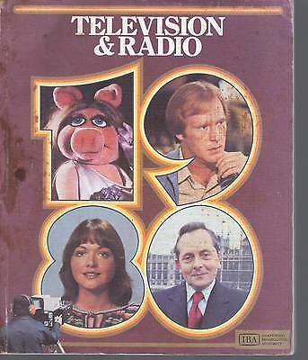 ITV IBA 1980 Yearbook Guide Independent Television TV, Anglia, Granada, LWT,