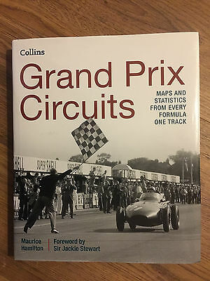Grand Prix Circuits - Maps & Stats From Every Formula One Track - 2015 Hardback