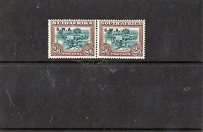 South west africa 2/6 Green and Brown sg 65 mint hinged