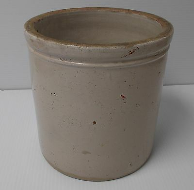 Vintage Red Wing HIGH BUTTER JAR 1 Gallon Size 8 1/4 high Pottery