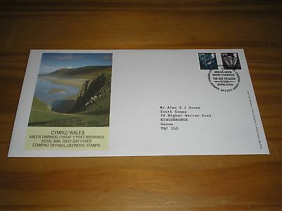 "2015 GB Stamps WALES ""REGIONAL ISSUES"" First Day Cover BELFAST Cancel - FDC"