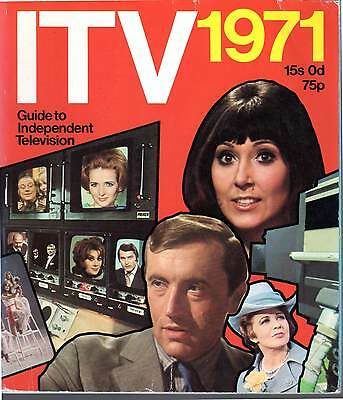 ITV ITA 1971 Yearbook Guide Independent Television TV, Anglia, Granada, LWT,