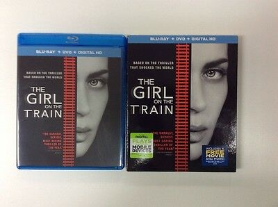 The Girl On The Train (Blu-ray + Digital HD) 2016 No DVD PLEASE READ