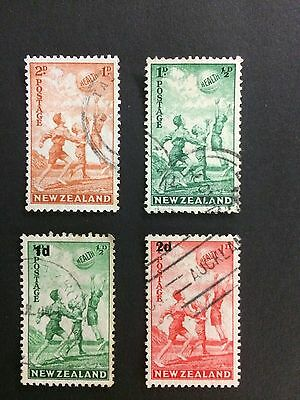 New Zealand 1939/1940 Health Stamps, Fine Used, High Cat Value