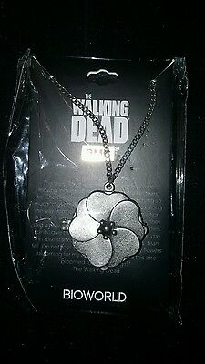 #LOOTCRATE LVLUP+ EXCLUSIVE The Walking Dead Cherokee Rose necklace by BIOWORLD