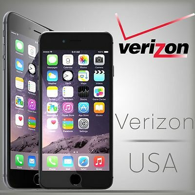 Verizon USA unlocking iPhone 4/4s/5/5c/5s/6/6+ Very Fast Service (Clean Only)