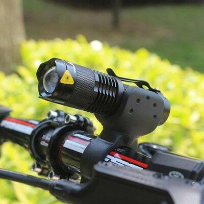 1200LM Cree Q5 LED Bike Bicycle Head Front Light Headlamp Flashlight + 360 Mount