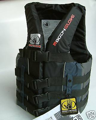 Bodyglove Xl Buoyancy Aid Impact Vest Watersports Waterski Life Jacket