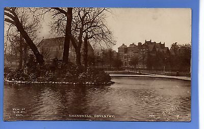 SUPERB  1912c SWANSWELL COVENTRY LOCAL TH Co RP PHOTO VINTAGE POSTCARD