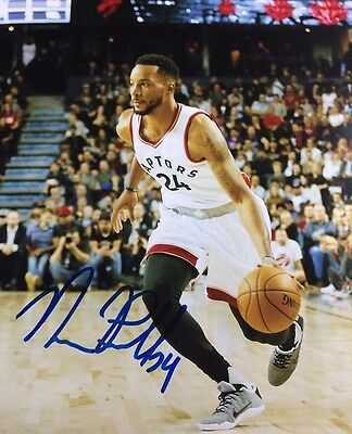 Norman Powell Autographed Hand Signed 8x10 Photo Raptors Star