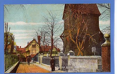 SUPERB  1912c THE OLD BELFRY COVENTRY LOCAL ARCADIAN VINTAGE POSTCARD