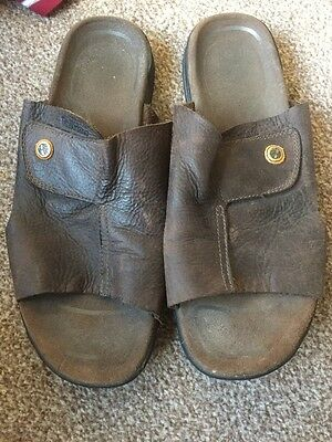 Men's Timberland Leather Sandals Size 10 -11