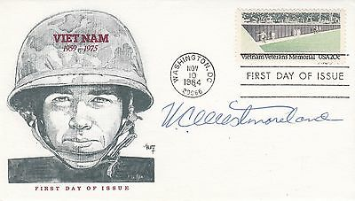 USA FDC  Vietnam Veterans Memorial Signed Vietnam Veterans