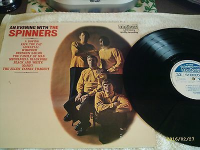 An Evening With The Spinners - Vinyl LP Record - Live Tracks