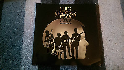 Cliff Richard and the Shadows 50th Anniversary Tour Programme Brochure