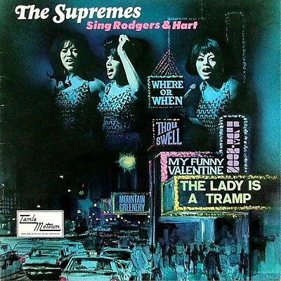 """The Supremes - """"sing Rodgers & Hart"""" - Vinyl Lp"""