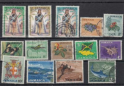 Jamaica.14 --1964 Used Stamps On Stockcard